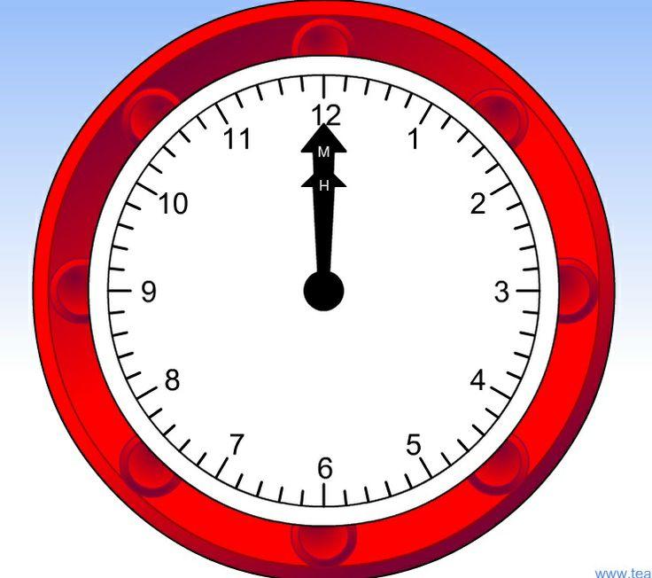 Zegar - możliwość regulacji wskazówek i ustawiania godziny