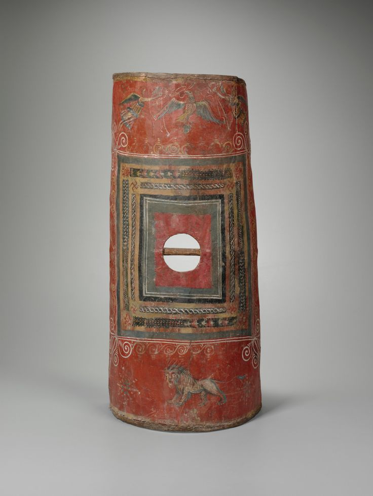 The only known surviving Roman scutum shield - known from testudo(tortoise) formation. mid-3rd century AD, Dura-Europos