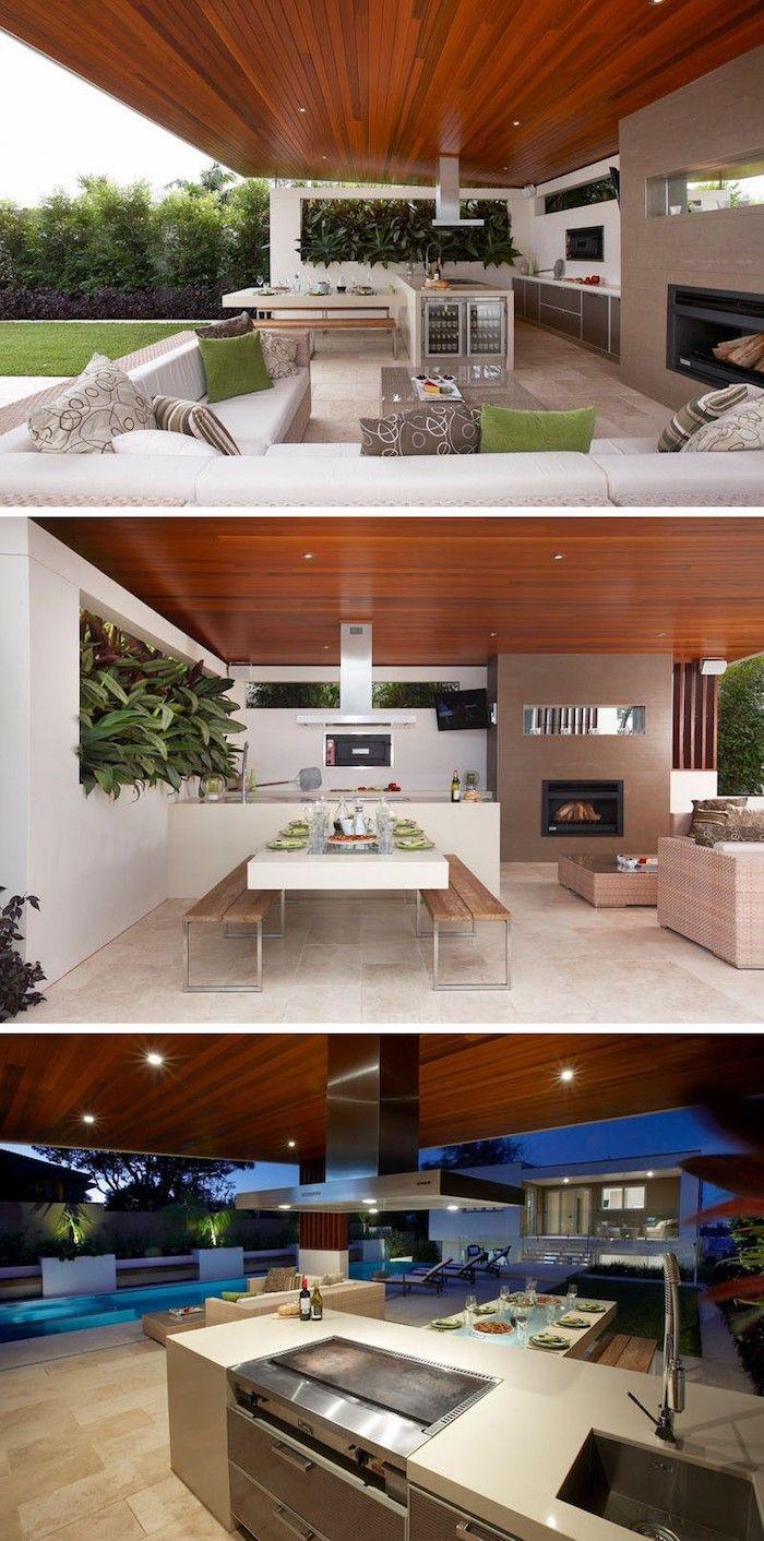 ▷ 1001 + Ideen und Bilder zum Thema Außenküche selber bauen   – chris X