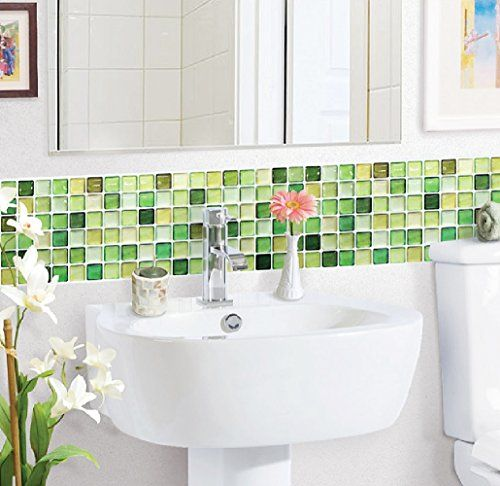Lime green bathroom accessories and ideas kitchen diy for Bathroom decor green walls