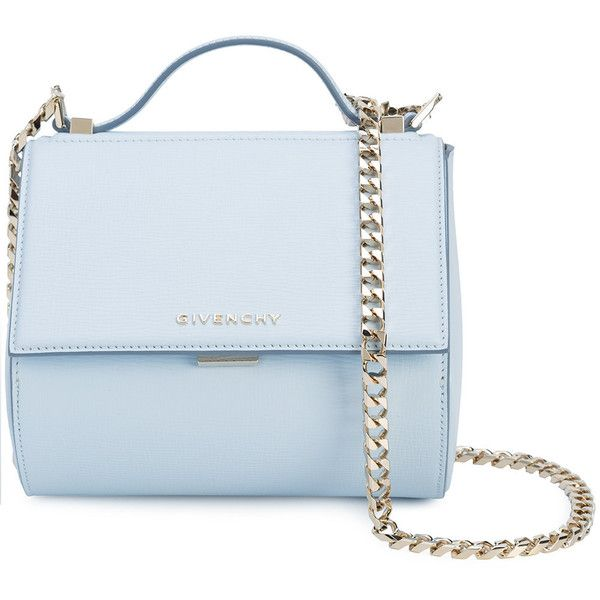 Givenchy leather shoulder bag (£2,255) ❤ liked on Polyvore featuring bags, handbags, shoulder bags, blue, shoulder handbags, givenchy handbags, genuine leather purse, blue leather handbags and leather shoulder handbags
