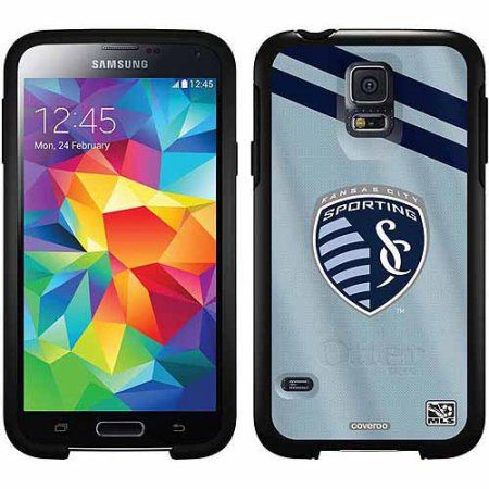 Sporting Kansas City Jersey Design on OtterBox Symmetry Series Case for Samsung Galaxy S5