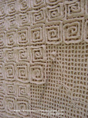 Crocheted Rug. I am still trying to figure out how it is done. No written instructions on site.