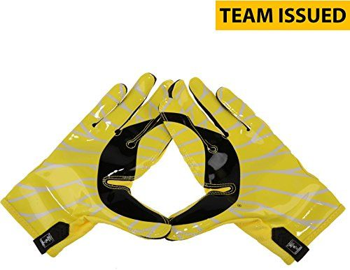 Oregon Ducks Team-Issued Yellow and Black Mesh Nike Football Gloves - Size 3XL - Fanatics Authentic Certified  100% Certified Authentic and Backed by our Sports Memorabilia Authenticity Guarantee  Comes with a Certificate of Authenticity from Fanatics Authentic  Category; Game Used College Gloves  Makes a Great Gift!
