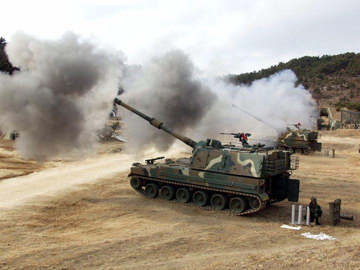 K9 Thunder spg in South Korea's service