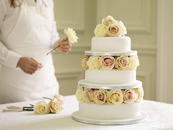 Almond Wedding Cake
