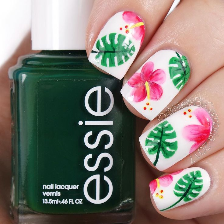 458 best Floral Nails and Makeup images on Pinterest