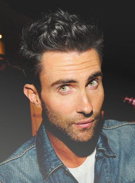 Adam Levine. Those eyes.                                                                                                                                                                                 More