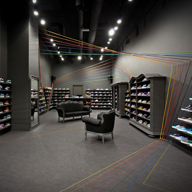 Modelina Designs New Run Colors Sneaker Shop In Pozna Poland The Team Behind Successful Warsaw Based Store And Website Of