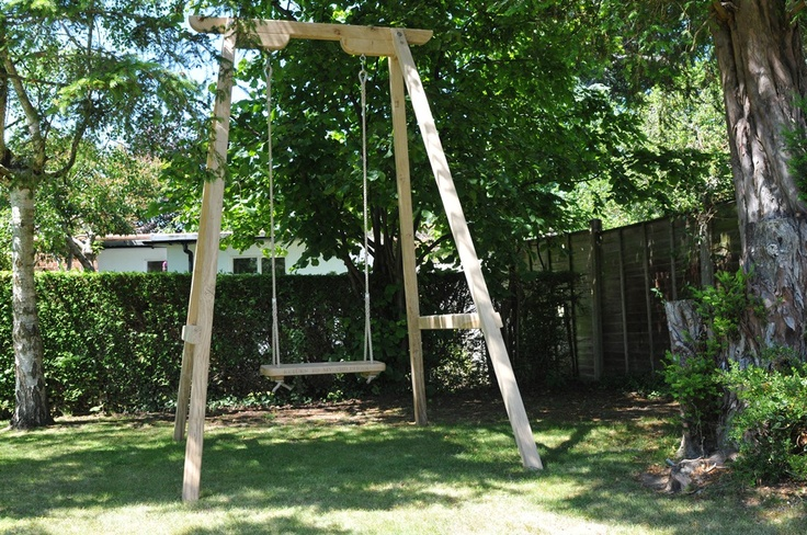 Need a frame for you rope swing how about this beauty for Rope swing plans