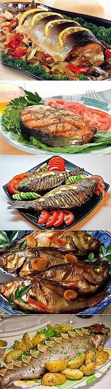Рыба в духовке - 3 лучших рецепта и пару полезных советов.