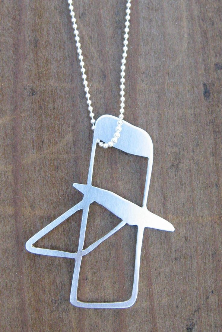 Folding Chair Necklace by ColleenMarieIci on Etsy https://www.etsy.com/listing/50139543/folding-chair-necklace