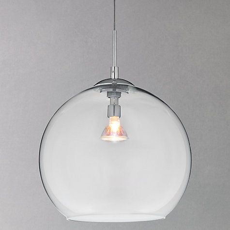 Buy house by john lewis leora reflective glass pendant online at johnlewis com think like