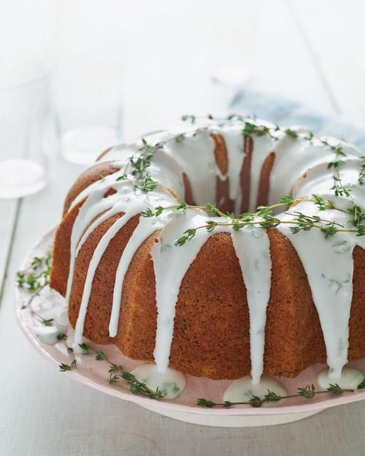 Nigella Lawson's Thyme & Lemon Bundt Cake
