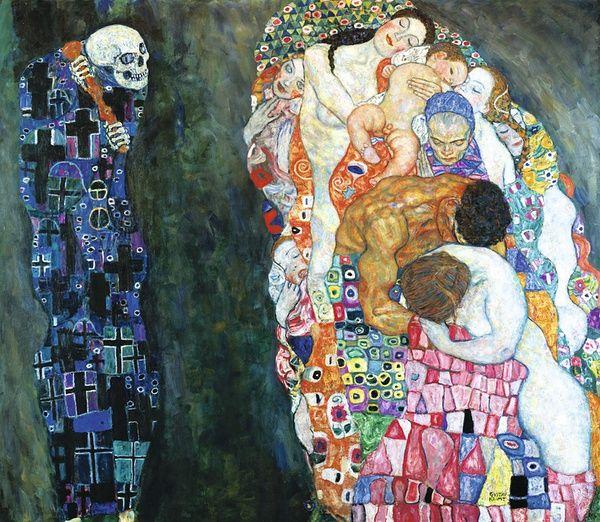 《死神与生命》1915