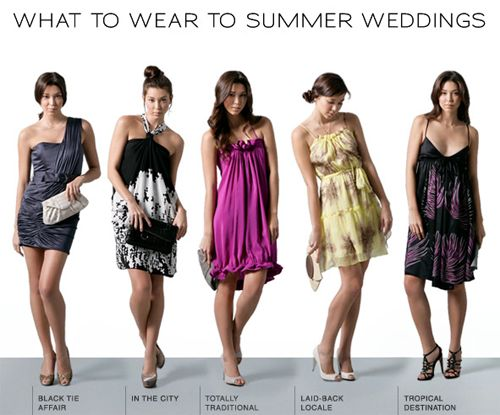 what to wear to summer weddings