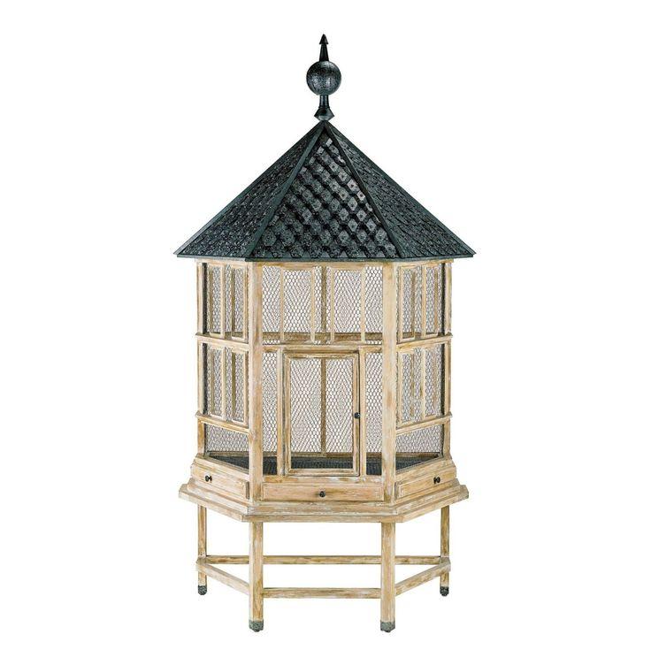 17 Best Decorative Antique Bird Cages Images On Pinterest