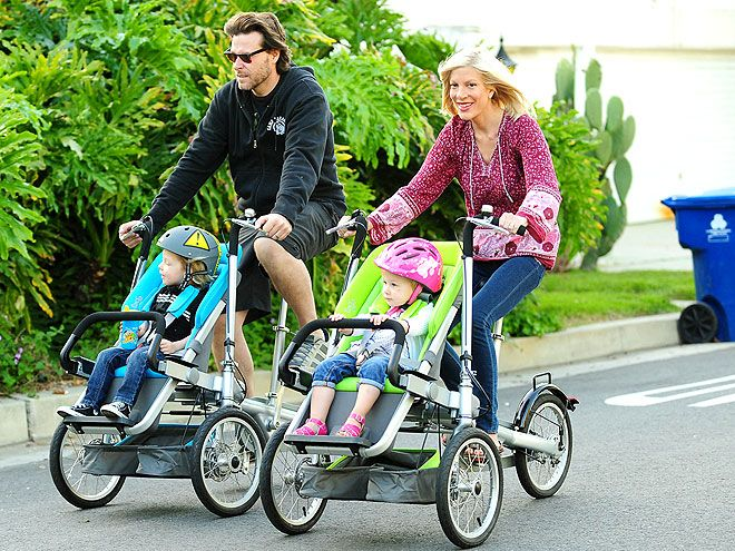 That's a pretty cool bike. Much rather do that, than run with a stroller.