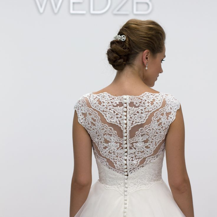 The beautiful lace detailing on 'Bronte' by Anna Sorrano is simply perfection ✨ Could this be 'the one' for you? http://bit.ly/AS_Bronte