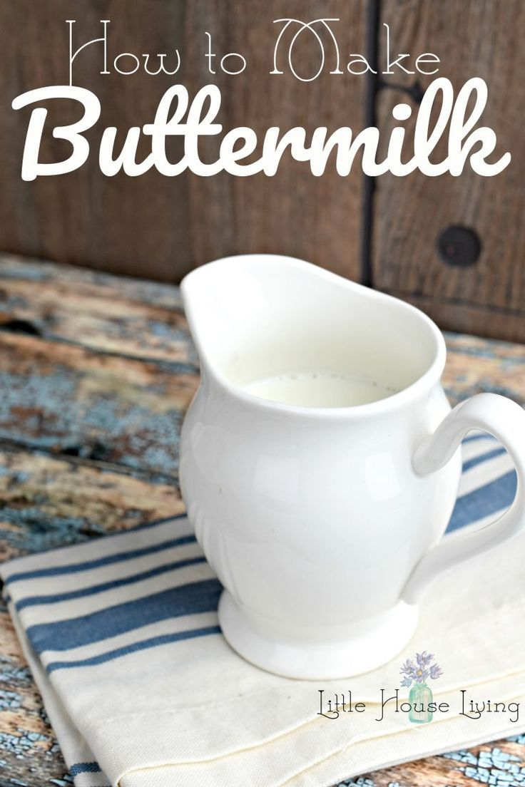 How to Make Buttermilk with just 2 ingredients at home.
