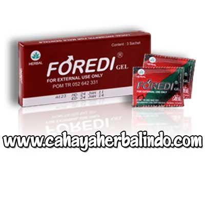 Foredi Gel merupakan produk anti septik organ intim dewasa sekaligus untuk mengatasi masalah ejakulasi dini http://cahayaherbalindo.com/foredi