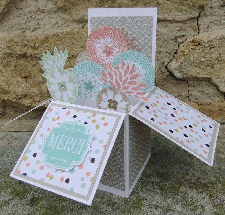 1000 id es sur le th me artisanat de cartes de no l sur pinterest confection de cartes - Tuto carte de voeux ...