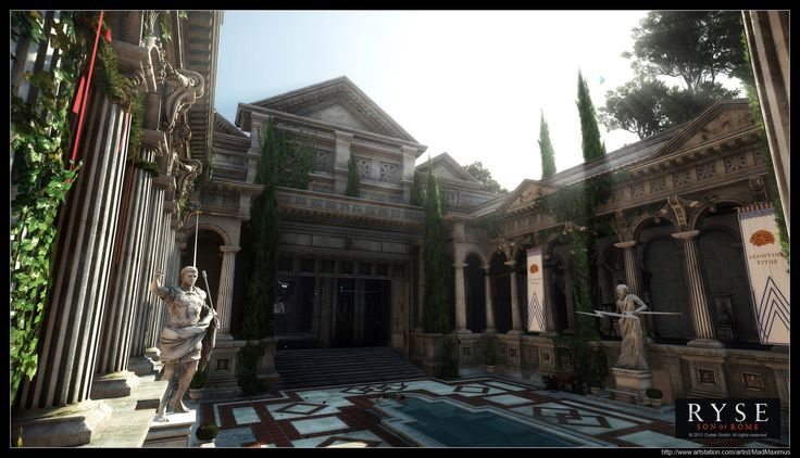 ArtStation - Ryse - Son of Rome - Ingame Screenshot 03, Finn Meinert Matthiesen