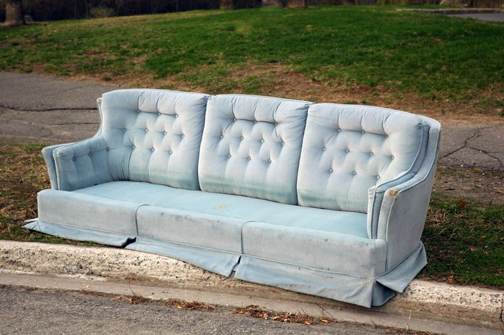 How To Dispose Of Old Furniture And Remove Other Large Items Of