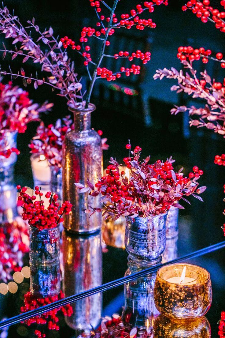 winter wedding flowers  New York Theme