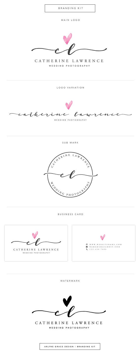 Premade Logo Logo Design Business Logo door ArlyneGraceDesign                                                                                                                                                                                 More