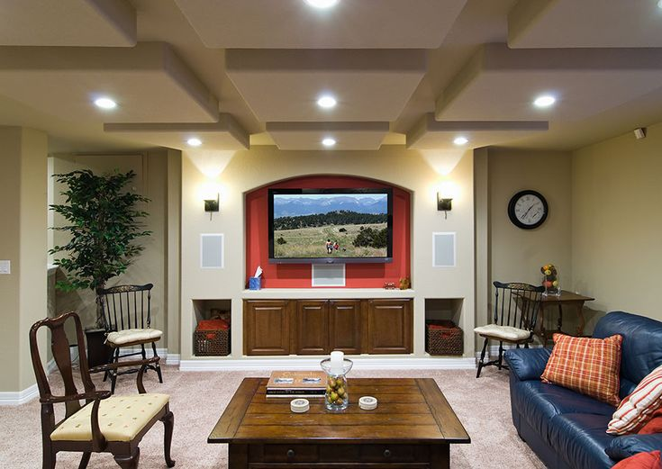 97 best Basement Home Theaters & TV Walls images on ...