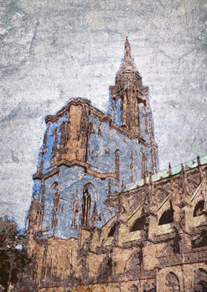 Rheinmetropolen. Straßburg / ps, din a3, 2016