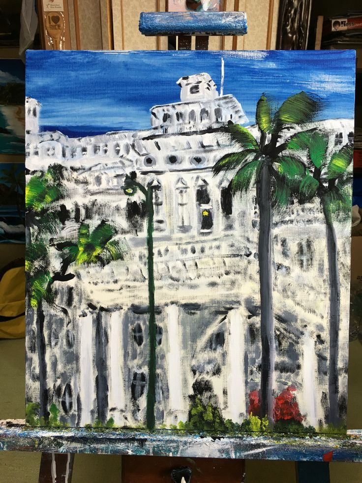 72 best I drew oil painting of Hawaii images on Pinterest ...