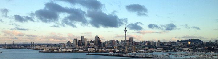 City of Sails - Auckland, where I lay my head to sleep