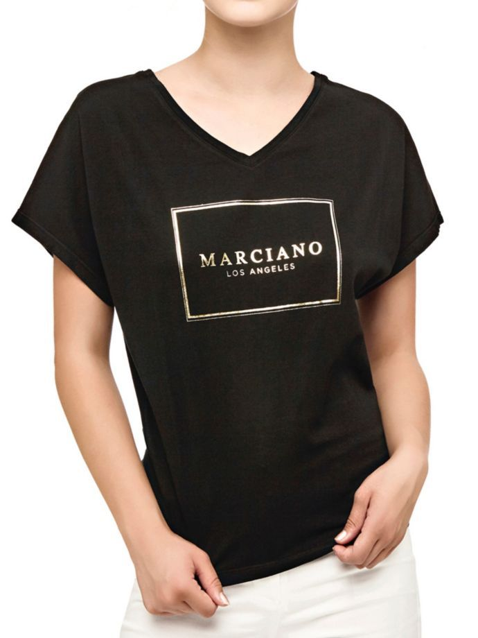 EUR59.00$  Watch here - http://vildk.justgood.pw/vig/item.php?t=a38brp55457 - MARCIANO T-SHIRT WITH FRONT PRINT EUR59.00$