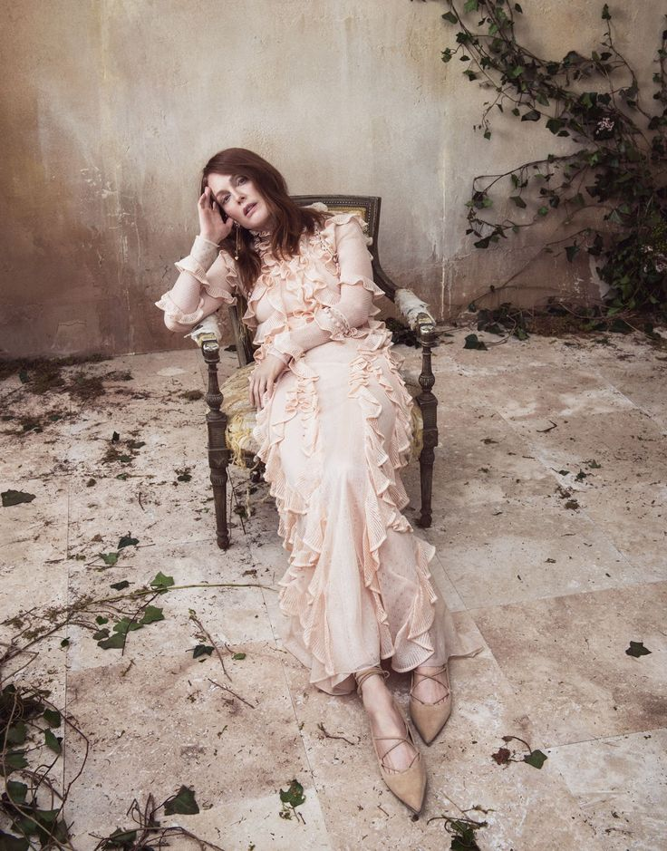 Julianne Moore by Sebastian Kim for The Edit May 2016