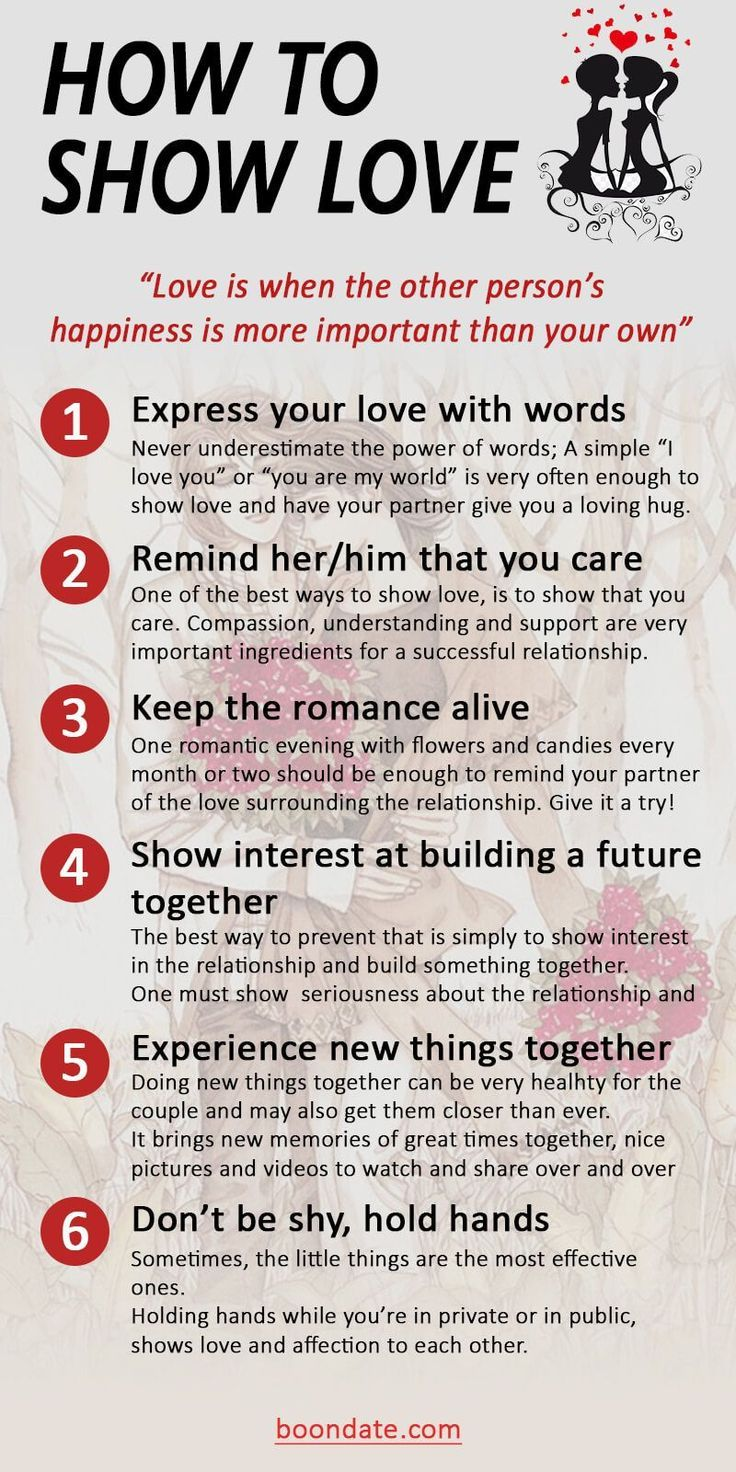 9 Great Ways to Show Love   Dating Tips   How to show love