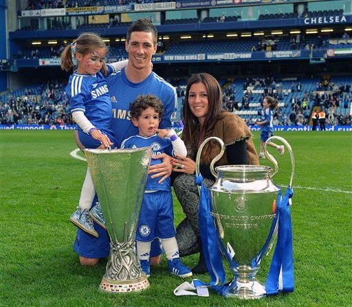 Torres and family celebrate