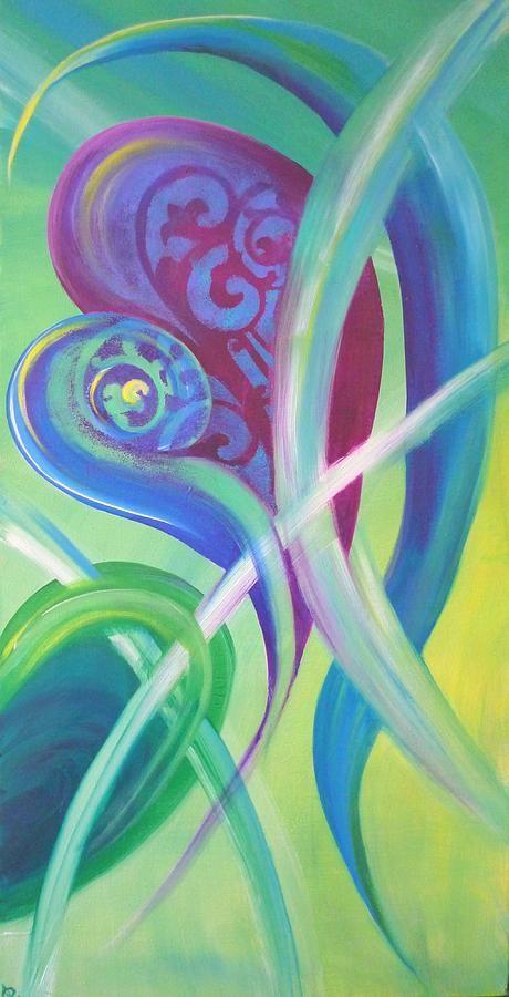 Spring Breeze- acrylic on canvas