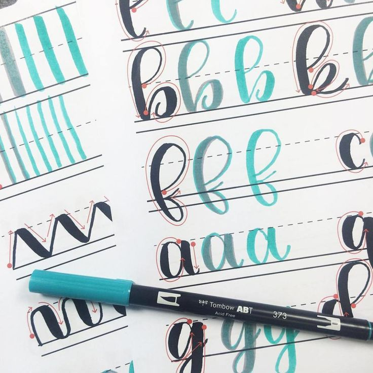 Everything you need to get started lettering: a comprehensive guide | www.brittanyluiz.com