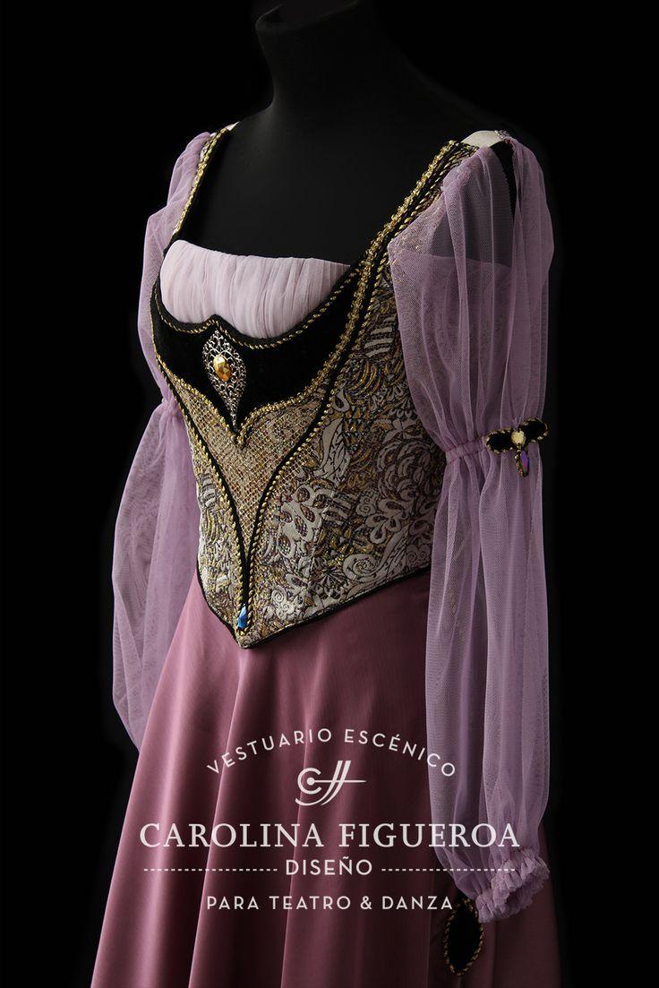 Pas de trois · Ballet · Lago de los Cisnes · Swan Lake · Costume Designer · Diseño de Vestuario: Ana Carolina Figueroa