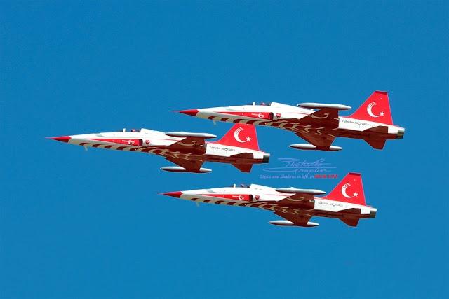 TURKISH STARS (Turkish: Türk Yıldızları) - Air Force Canadair NF-5A Freedom Fighter