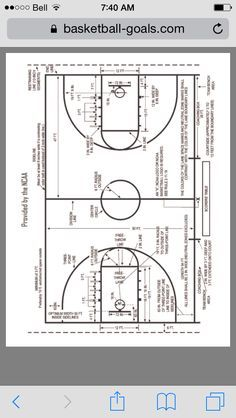 Basketball Court Dimensions so you can make your own at ...