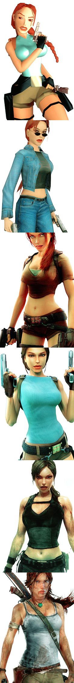The evolution of Lara Croft. I don't know how they did it, but they finally managed to make her relatable, lovable, and badass. Bravo, Square Enix.
