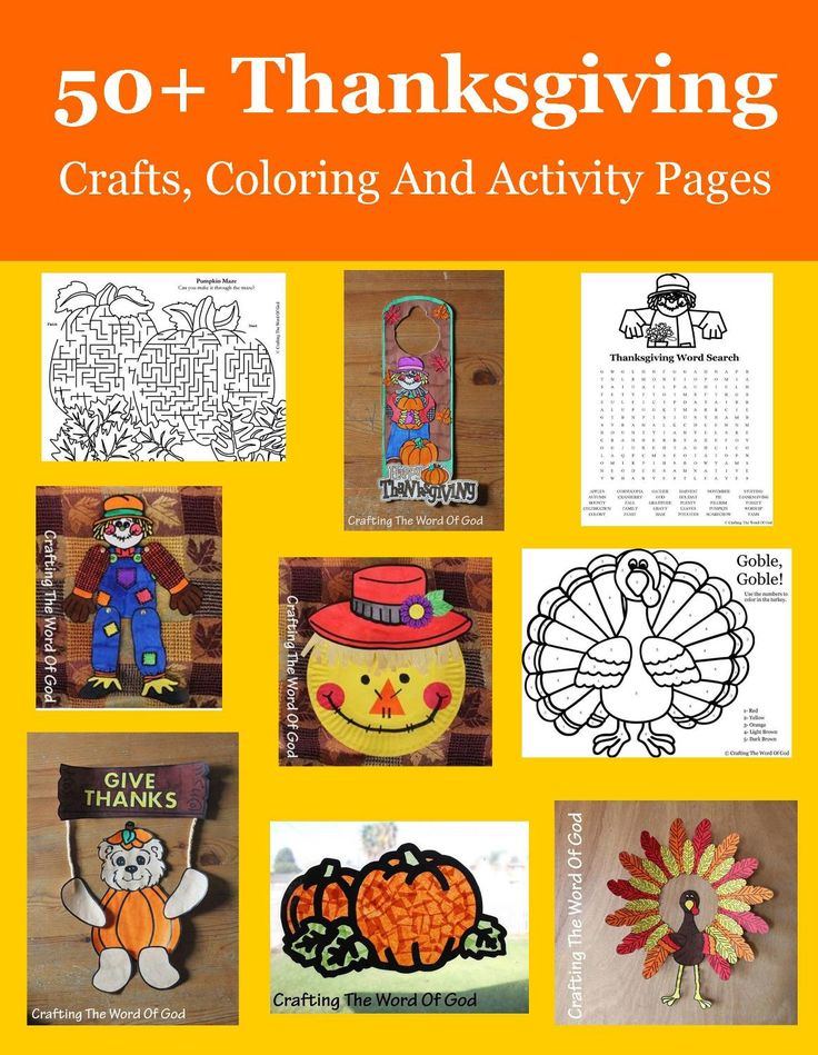 kaboose coloring pages thanksgiving crafts - photo #44