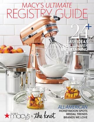 Macy's Ultimate Registry Guide Summer 2014