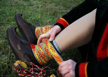 Sami textile, Nieida Márkomeanus. Govven: Sigrid Schrøder
