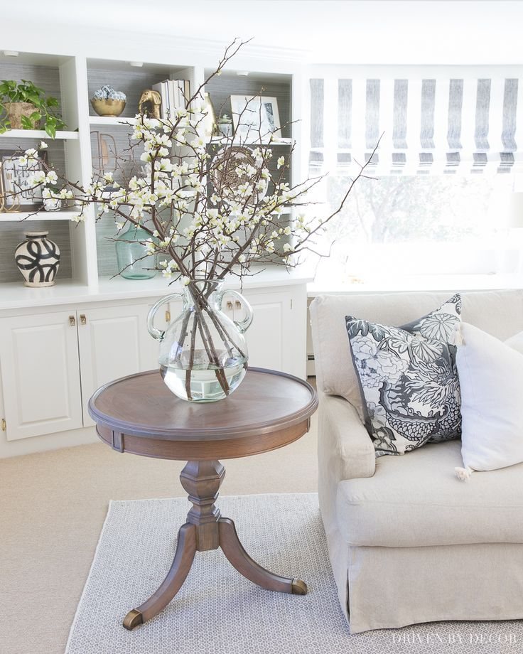 Love this side table and can't believe what it looked like before it was refinished! Definitely trying this!!