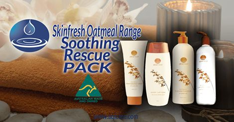 Special Offer Pack - 4 Products in the Skinfresh Range using the natural Oatmeal formula
