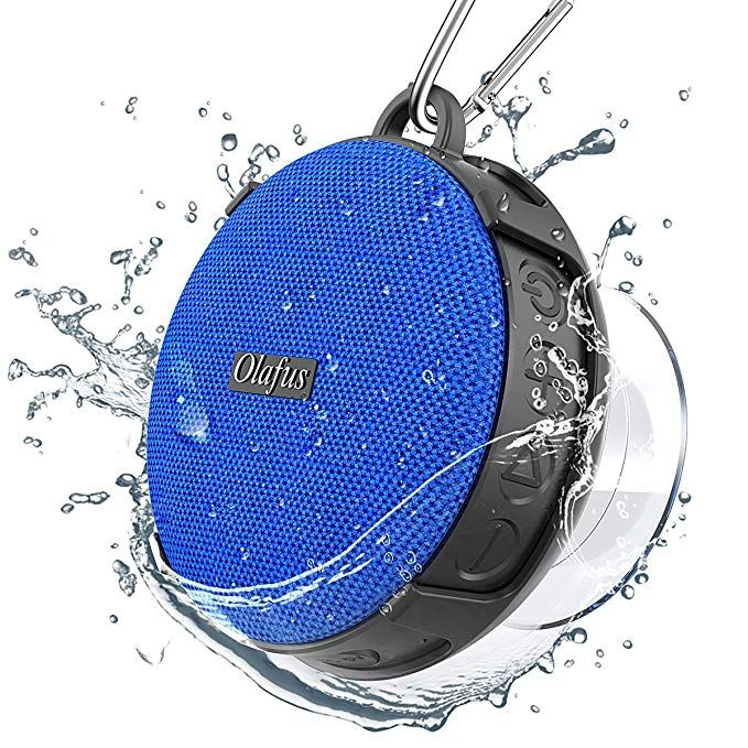 Olafus Bluetooth Shower Speaker Ipx7 Waterproof Wireless Outdoor Speakers For Beach Pool Hiking Camping Hd Sound Bluetooth 5 0 Detachable Suction Waterproof Speaker Shower Bluetooth Speaker Wireless Outdoor Speakers